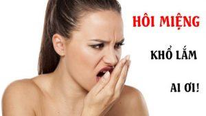 Bọc răng sứ bị hôi miệng. Nguyên nhân và giải pháp